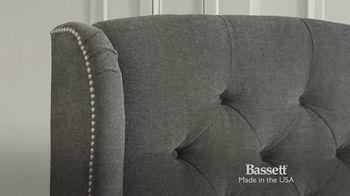 Bassett TV Spot, 'Sweet Dreams: Custom Upholstered Beds' - Thumbnail 6