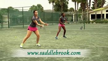 Saddlebrook Resort TV Spot, 'Champions Are Made'