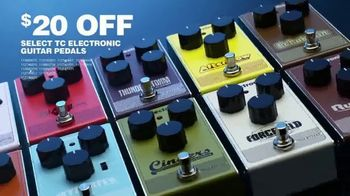 Guitar Center Guitarathon TV Spot, 'Schecter CR-6 & TC Electronic Guitar Pedals' - Thumbnail 4