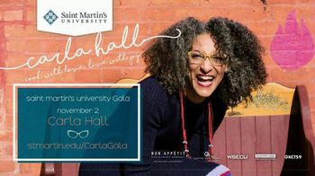 Saint Martin's University TV Spot, 'Carla Hall' - 4 commercial airings