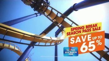 Six Flags Season Pass Sale TV Spot, 'Spring Break: Save 65 Percent' - Thumbnail 8