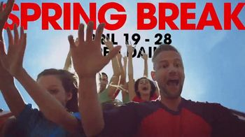 Six Flags Spring Break Sale TV Spot, 'Save 65%' - Thumbnail 4