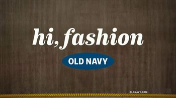 Old Navy TV Spot, 'Spring Styles: 50 Percent Off Entire Purchase' - Thumbnail 1