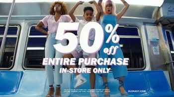Old Navy TV Spot, 'Spring Styles: 50 Percent Off Entire Purchase' - Thumbnail 6