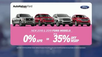 AutoNation Super Zero Event TV Spot, '2018 and 2019 Ford Models' Song by Bonnie Tyler - Thumbnail 3