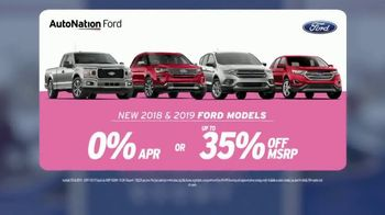 AutoNation Super Zero Event TV Spot, '2018 and 2019 Ford Models' Song by Bonnie Tyler