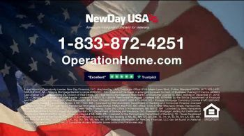 NewDay USA Operation Home TV Spot, 'The Importance of Helping Veterans' - Thumbnail 10