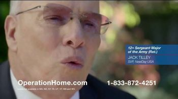 NewDay USA Operation Home TV Spot, 'The Importance of Helping Veterans'