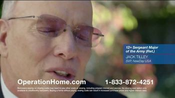 NewDay USA Operation Home TV Spot, 'The Importance of Helping Veterans' - Thumbnail 4