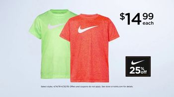 Kohl's TV Spot, 'It Adds Up: Nike & Converse' Song by Rayelle - Thumbnail 7
