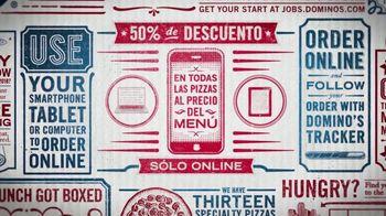 Domino's TV Spot, 'Combinaciones: marzo' [Spanish]