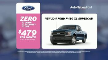 AutoNation Super Zero Event TV Spot, '2019 Ford F-150 XL SuperCab' Song by Bonnie Tyler - 29 commercial airings