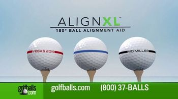 Golfballs.com AlignXL TV Spot, 'Tour-Proven Golf Ball Alignment Aid with Your Customization' - Thumbnail 2