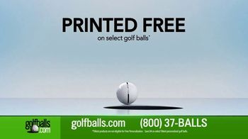Golfballs.com AlignXL TV Spot, 'Tour-Proven Golf Ball Alignment Aid with Your Customization' - Thumbnail 3