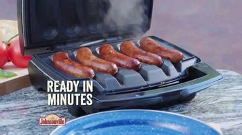 Johnsonville Sizzling Sausage Grill TV Spot, 'All the Time Everywhere' - Thumbnail 3