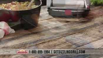 Johnsonville Sizzling Sausage Grill TV Spot, 'All the Time Everywhere' - Thumbnail 7