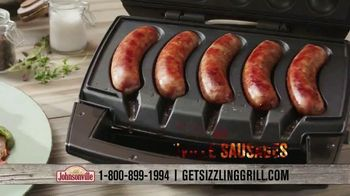 Johnsonville Sizzling Sausage Grill TV Spot, 'All the Time Everywhere' - Thumbnail 8