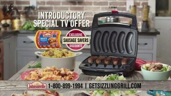 Johnsonville Sizzling Sausage Grill TV Spot, 'All the Time Everywhere' - Thumbnail 9