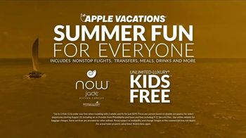 Apple Vacations TV Spot, 'Summer Fun: Kids Free' - Thumbnail 9