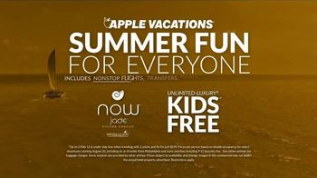 Apple Vacations TV Spot, 'Summer Fun: Kids Free' - Thumbnail 8