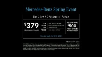 Mercedes-Benz Spring Event TV Spot, 'Hey, Mercedes' [T2] - Thumbnail 10