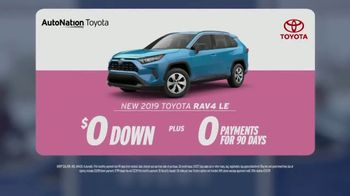 AutoNation Super Zero Event TV Spot, '2019 Toyota RAV4 LE' Song by Bonnie Tyler - Thumbnail 2