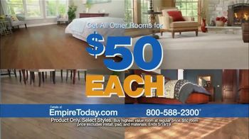 Empire Today $50 Room Sale TV Spot, 'Update Your Floors' - Thumbnail 2