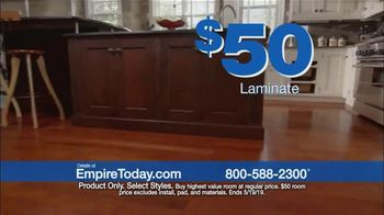 Empire Today $50 Room Sale TV Spot, 'Update Your Floors' - Thumbnail 3