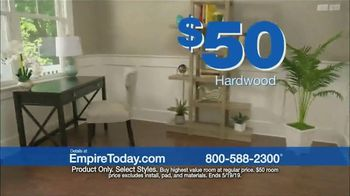 Empire Today $50 Room Sale TV Spot, 'Update Your Floors' - Thumbnail 4