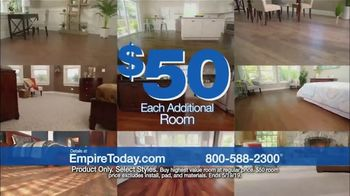 Empire Today $50 Room Sale TV Spot, 'Update Your Floors' - Thumbnail 6