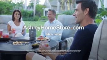Ashley HomeStore One Day Sale TV Spot, 'Outdoor Tables' Song by Midnight Riot - Thumbnail 8