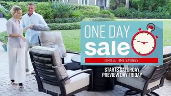 Ashley HomeStore One Day Sale TV Spot, 'Outdoor Tables' Song by Midnight Riot - Thumbnail 3