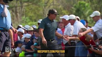 NBC Sports Gold TV Spot, 'PGA Tour Live: Featured Groups'