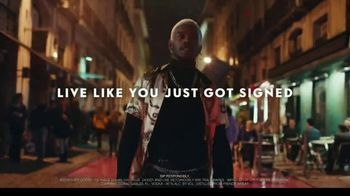 Grey Goose TV Spot, 'Live Victoriously: Signed' Ft. Sisqo, Song by Monteloco