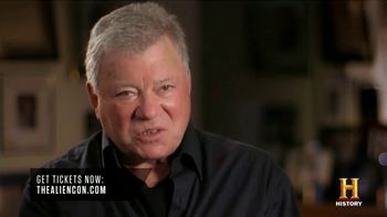 2019 AlienCon L.A. TV Spot, 'William Shatner' - 48 commercial airings