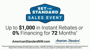 American Standard Set the Standard Sales Event TV Spot, 'Focus on the Problems That Matter' - Thumbnail 9