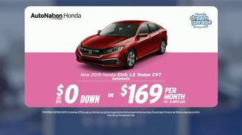 AutoNation Super Zero Event TV Spot, '2019 Honda Civic LX' Song by Bonnie Tyler - Thumbnail 4
