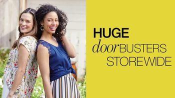 Stage Stores One Big Easter Sale TV Spot, 'Huge Doorbusters'