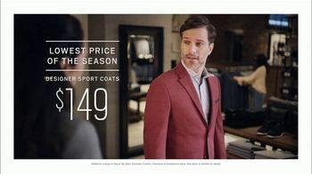 Men's Wearhouse The Big Deal Event TV Spot, 'Sport Coats, Dress Shirts & Designer Suits' - Thumbnail 3