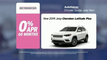 AutoNation Super Zero Event TV Spot, '2019 Jeep Cherokee Latitude Plus' Song by Bonnie Tyler - Thumbnail 6