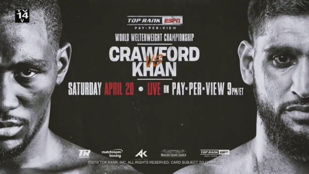 Comcast/XFINITY TV Commercial, 'Top Rank Boxing: Crawford vs  Khan' Song by  Lil Wayne - Video