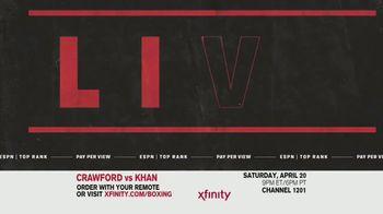 Comcast/XFINITY TV Spot, 'Top Rank Boxing: Crawford vs. Khan' Song by Lil Wayne - Thumbnail 3
