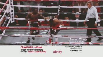 Comcast/XFINITY TV Spot, 'Top Rank Boxing: Crawford vs. Khan' Song by Lil Wayne - Thumbnail 4