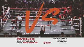 Comcast/XFINITY TV Spot, 'Top Rank Boxing: Crawford vs. Khan' Song by Lil Wayne - Thumbnail 5