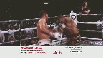 Comcast/XFINITY TV Spot, 'Top Rank Boxing: Crawford vs. Khan' Song by Lil Wayne - Thumbnail 6