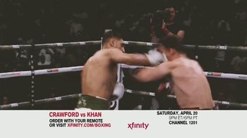 Comcast/XFINITY TV Spot, 'Top Rank Boxing: Crawford vs. Khan' Song by Lil Wayne - Thumbnail 7