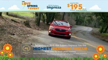 Subaru Love Spring Event TV Spot, '2019 Impreza' [T2] - Thumbnail 3