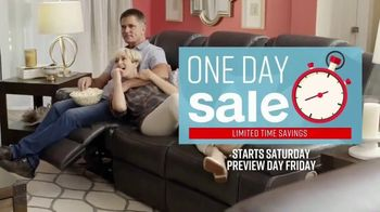 Ashley HomeStore One Day Sale TV Spot, 'Zero Percent Interest'  Song by Midnight Riot