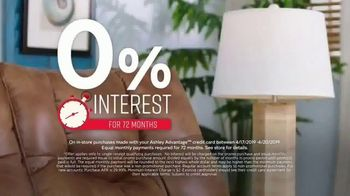 Ashley HomeStore One Day Sale TV Spot, 'Zero Percent Interest'  Song by Midnight Riot - Thumbnail 5