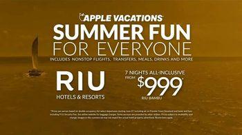 Apple Vacations TV Spot, 'Summer Fun: RIU Hotels & Resorts' - Thumbnail 9